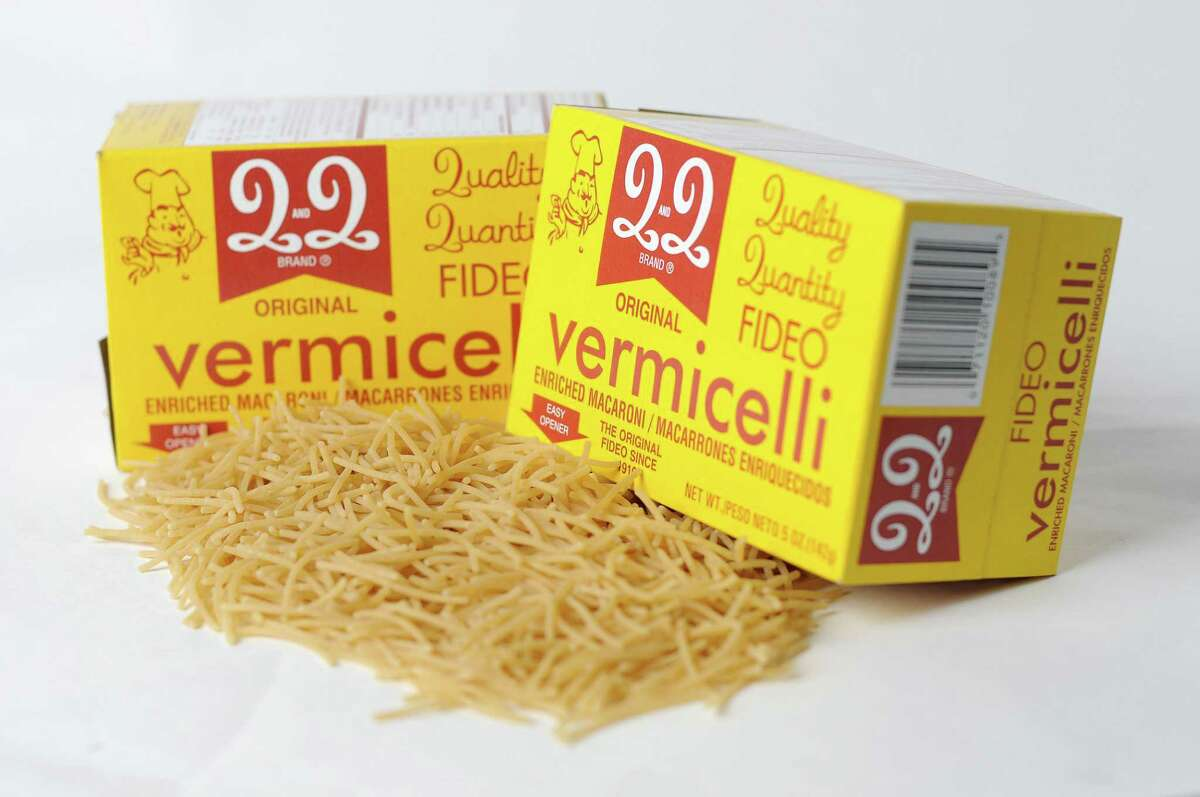 Boxes of Q and Q Fideo Vermicelli
