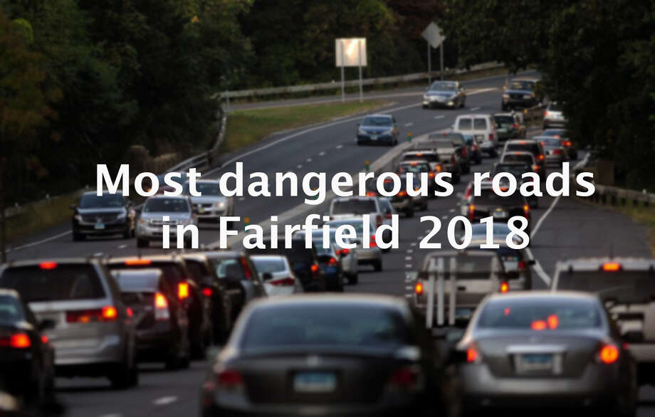 Fairfield roads were a bit safer in 2018 with fewer accidents recorded than the previous year, according to the University of Connecticut's Connecticut Crash Data Repository. The data showed there were 1,992 Fairfield crashes in 2018, a 15.2 percent decrease from the 2,350 accidents that occurred in 2017. While the amount of accidents decreased, the locations where they occurred remained the same.>> Click through the slideshow above to see which roads were the most dangerous in Fairfield in 2018.