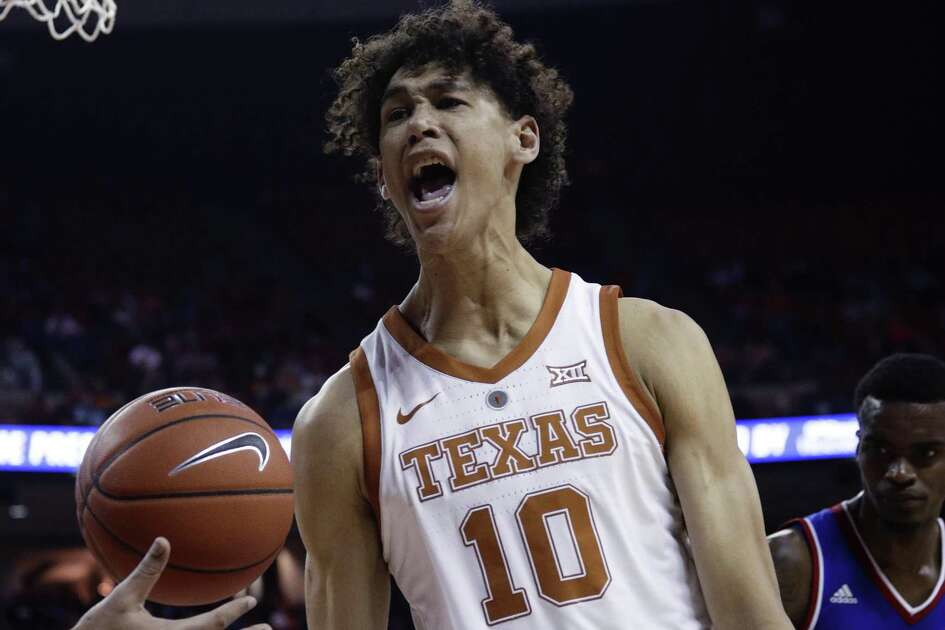 Forward Jaxson Hayes enjoys a night in which Texas picked up a a critical victory and he contributed 13 points.
