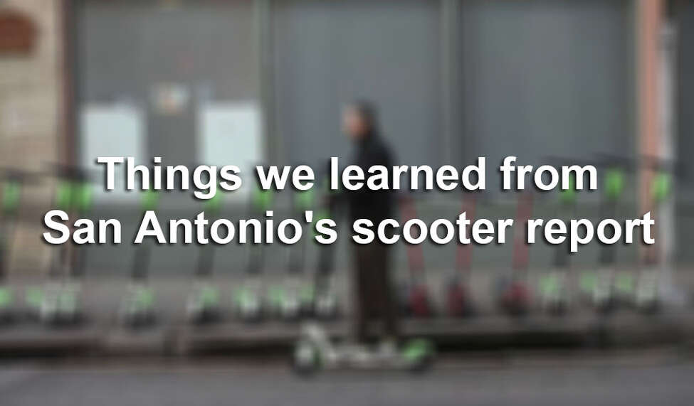 The City of San Antonio recently released a report on dockless vehicles in the city. Click through the slideshow to see information on San Antonio's scooters and dockless bikes, by the numbers.
