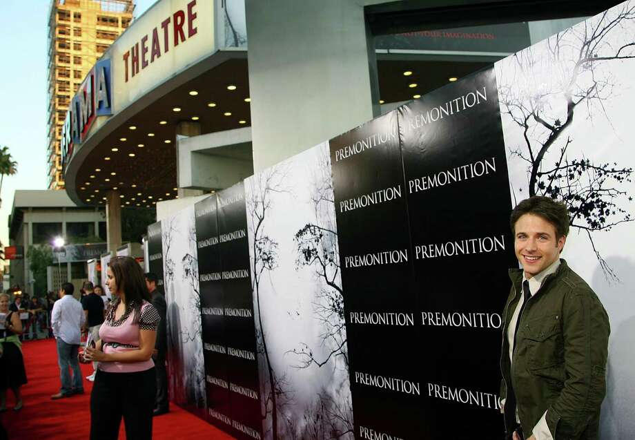 Actor Mark Famiglietti arrives to the 2007 TriStar premiere of Premonition at the ArcLight Hollywood Cinerama Dome in Hollywood, Calif. Photo: Getty Images / Getty Images / 2007 Getty Images