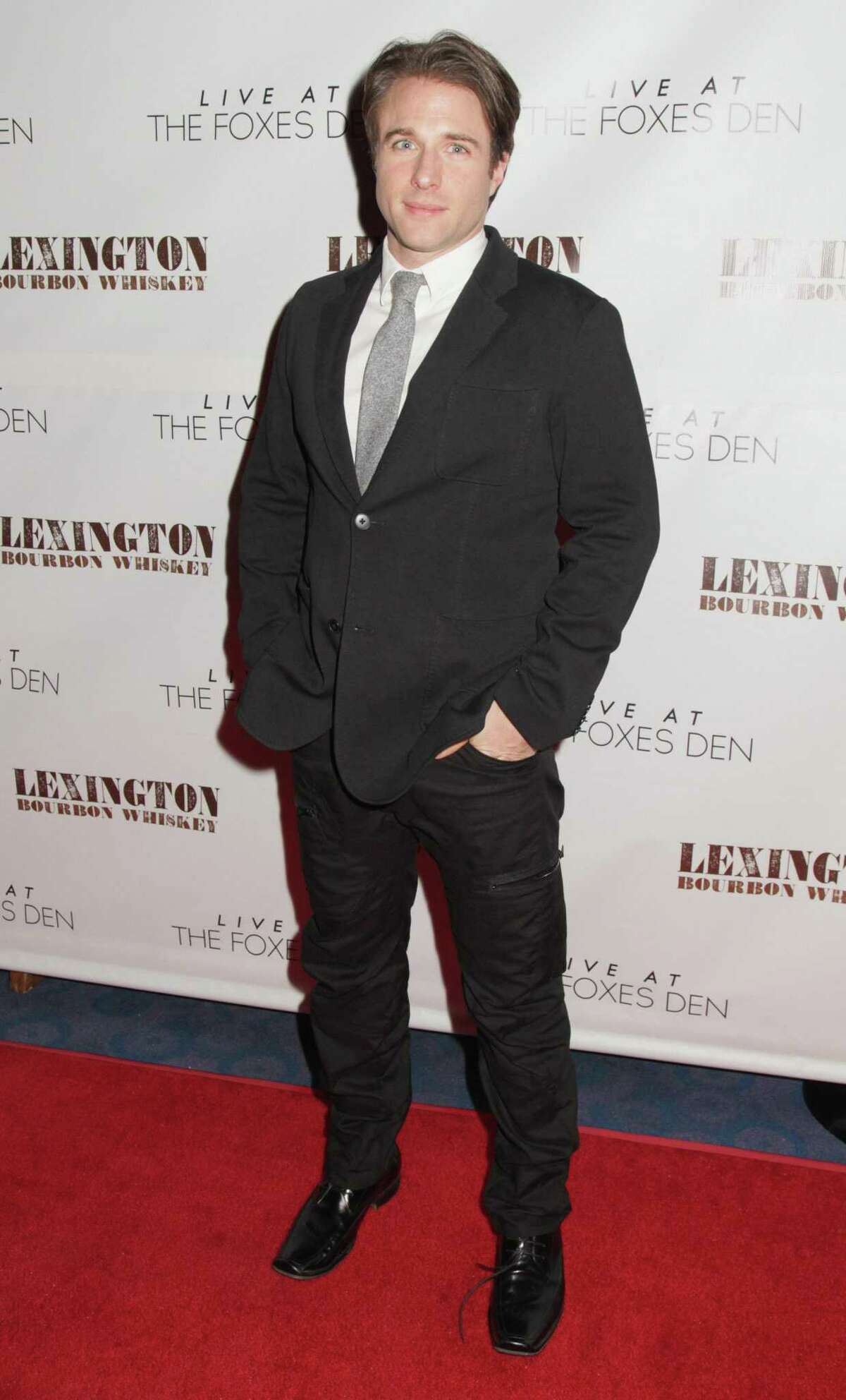 Actor Mark Famiglietti in 2013 arrives at