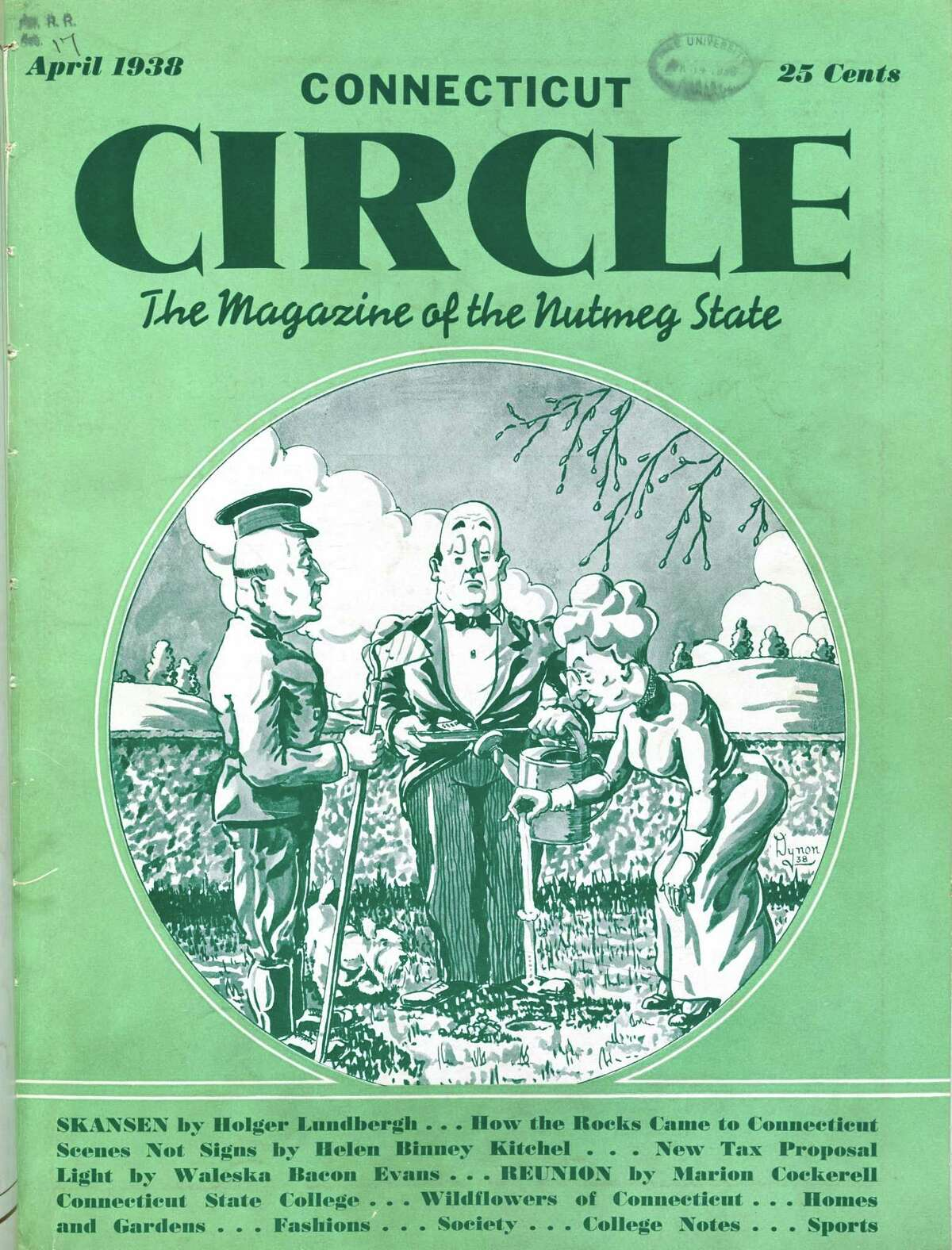 Connecticut Circle: The Magazine of the Nutmeg State, April 1938
