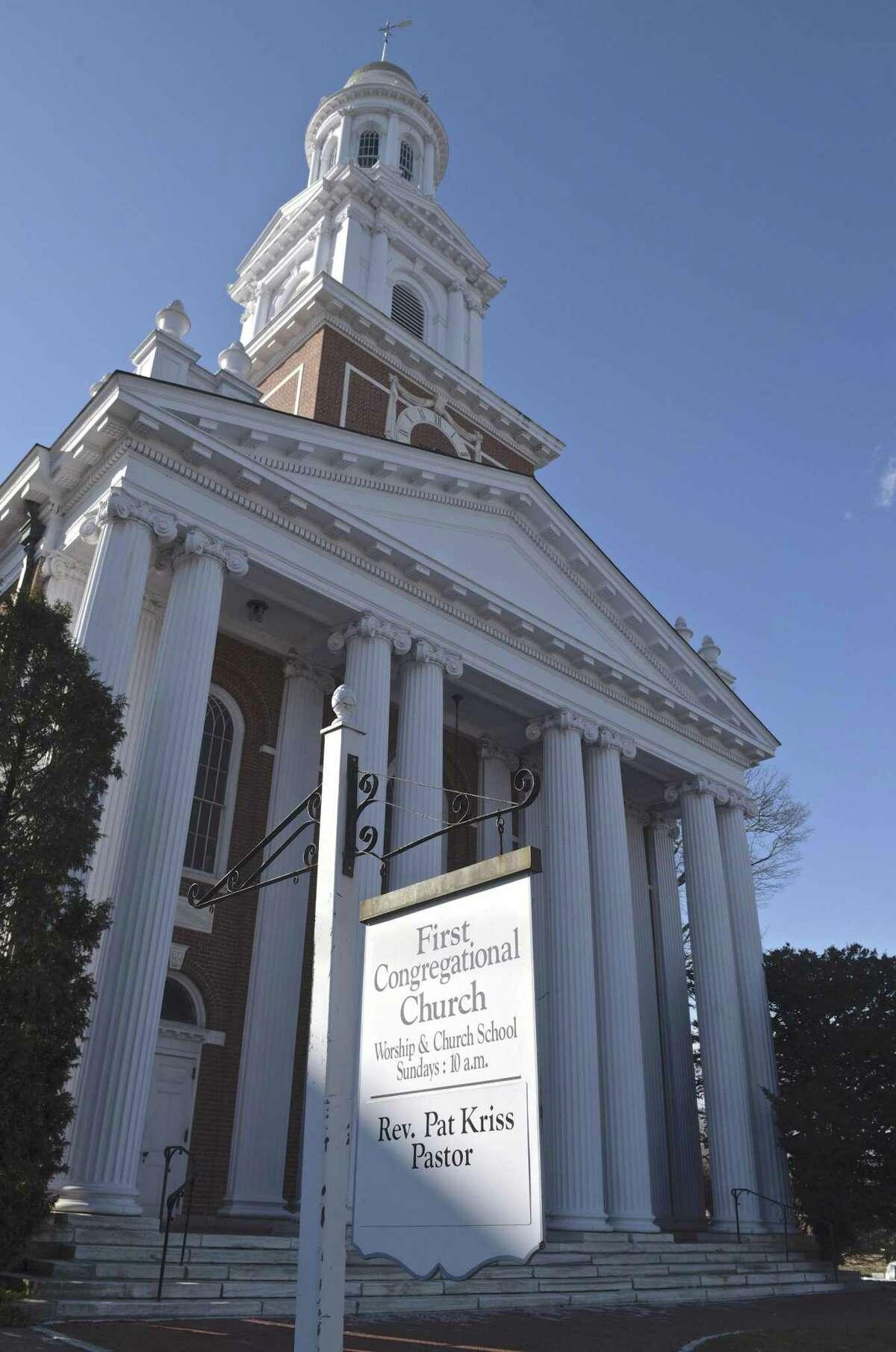 First Congregational Church United Church of Christ, Danbury, Conn. Wednesday, January 30, 2019.