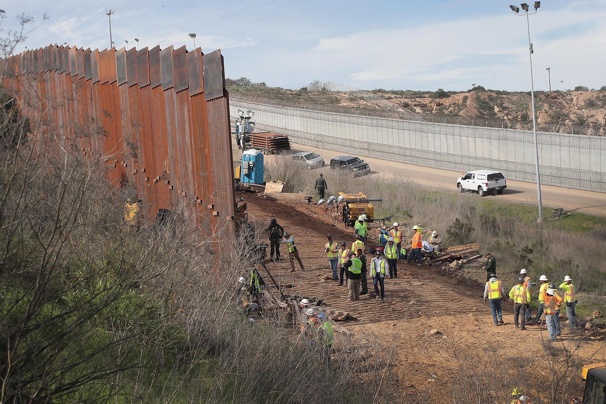 Congress never rejected Trump's border wall funding, US lawyer argues