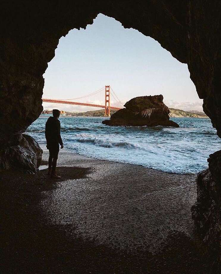 A private view of the Golden Gate Bridge by @oscarwastaken . Photo: Instagram / Oscarwastaken