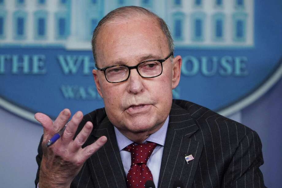 Director of the US National Economic Council Larry Kudlow speaks during a briefing in the Brady Briefing Room of the White House in Washington, DC on January 28, 2019. Photo: MANDEL NGAN / AFP /Getty Images / AFP or licensors