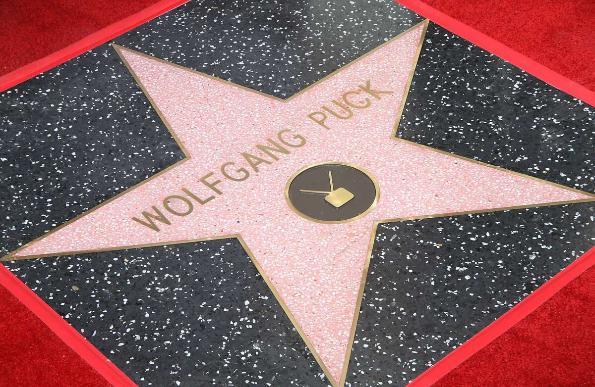 HOLLYWOOD, CA - APRIL 26: A general view of atmosphere during the ceremony honoring Wolfgang Puck with a Star on The Hollywood Walk of Fame held on April 26, 2017 in Hollywood, California. (Photo by Michael Tran/FilmMagic)