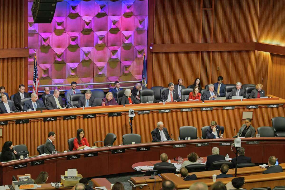 The state Senate will hold three hearings into climate change next month, marking a significant about face for the chamber, which generally avoided the issue under Republican control. (Paul Buckowski/Times Union)