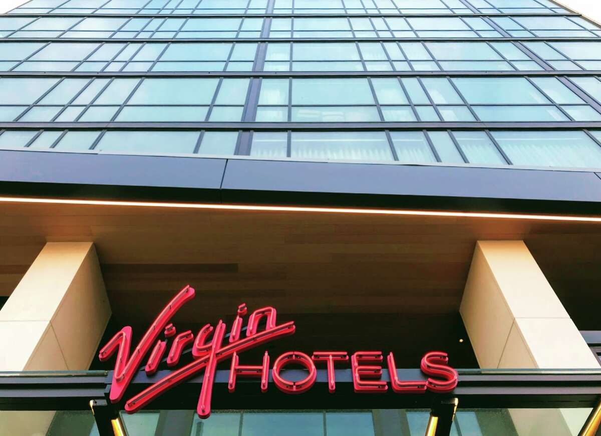 Exterior view of the new Virgin Hotel San Francisco, which is set to open in the first quarter of 2019
