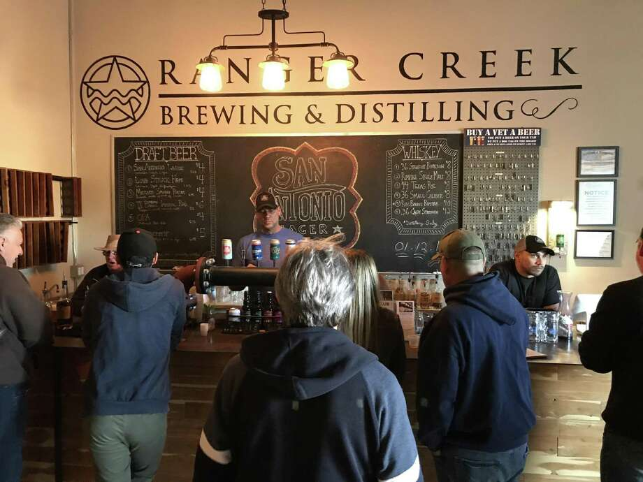 Wineries and distilleries across Texas say they won't make it through the pandemic if they don't receive help soon. The photo is of GM Whiskey and Ranger Creek Brewing and Distilling in San Antonio. Photo: Paul Stephen /Staff File Photo
