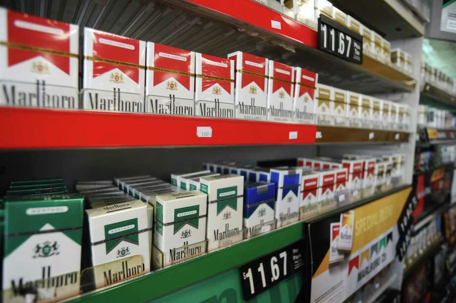 A bill that would raise the minimum age to 21 to purchase tobacco products in Connecticut awaits Gov. Ned Lamont's signature. Photo: Michael Cummo / Hearst Connecticut Media / Stamford Advocate