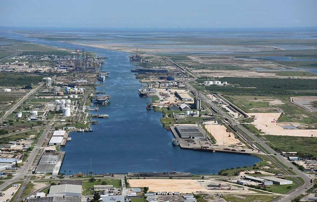 An aerial of the Port of Brownsville. Communities can use port development grants to aid broader economic development, the authors write.