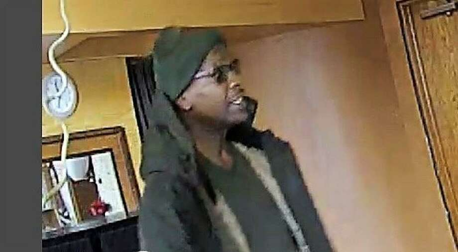 New Haven police are looking to identify a man wanted for questioning regarding a commercial burglary that occurred at 11:34 a.m. on Monday at a hair salon at 1 Whitney Ave. Photo: Contributed