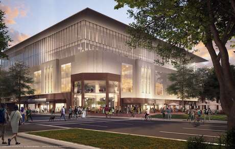 Pictured is a rendering of Rice University's Ion innovation hub.