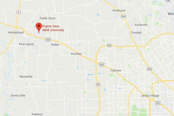 Prairie View Campus Map.Shots Reported On Prairie View A M Campus Houstonchronicle Com