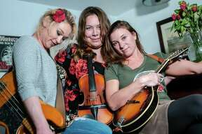 The Dead Roses, from left, Mila Raye Duffy, Erin Jo Paddlefoot and Sarah Springman-Shewmake.