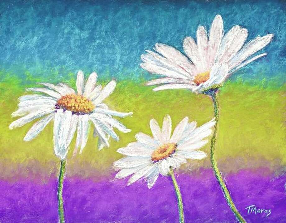 """Daisy Dance"" by Tracey Maras is among the artwork featured beginning Saturday at the Art Association of Jacksonville's David Strawn Art Gallery."