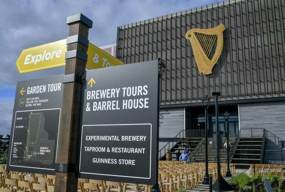 Guinness Open Gate Brewery & Barrel House, the first Guinness brewery in the U.S. in more than 60 years, held a ribbon cutting on August 2, 2018 in Halethorpe, Md. (PRNewsfoto/Diageo Beer Co. USA) Photo: Hand-out / Diageo Beer Company USA / This image must be used within the context of the news release it accompanied. Request permission from issuer for other uses.