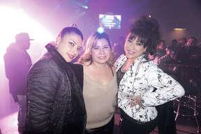 Jovannelly Zaragoza, Marina Martinez and Veronica Fernandez at Average Joe's