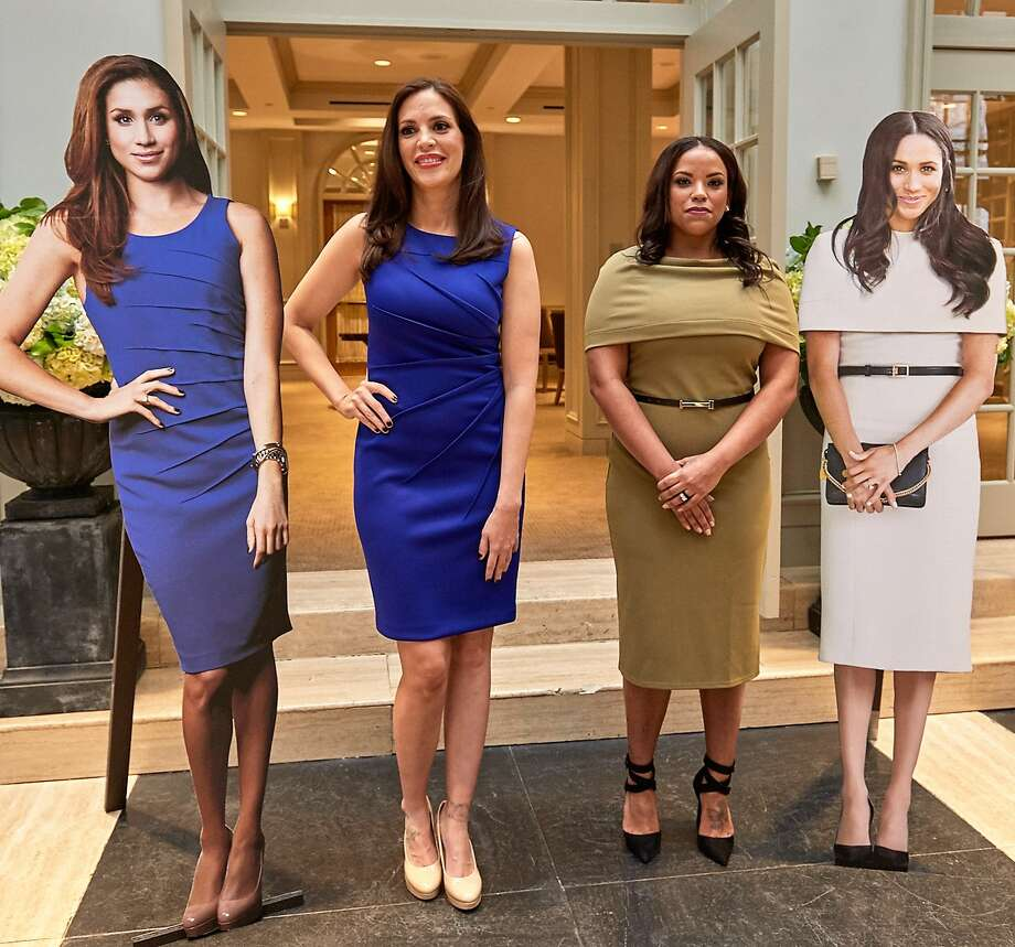 "Both Xochtyl ""Xochi"" Greer, left, and Renata Williams, right, were made over to look like Meghan Markle, Duchess of Sussex. Houston's Dr. Franklin Rose performed surgeries. 