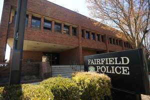 The Fairfield Police Station in Fairfield, Conn. on Monday, April 23, 2018.
