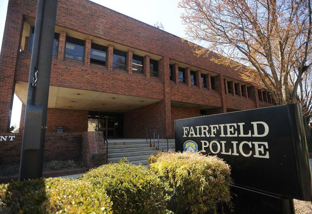 The Fairfield Police Station in Fairfield, Conn. on Monday, April 23, 2018.