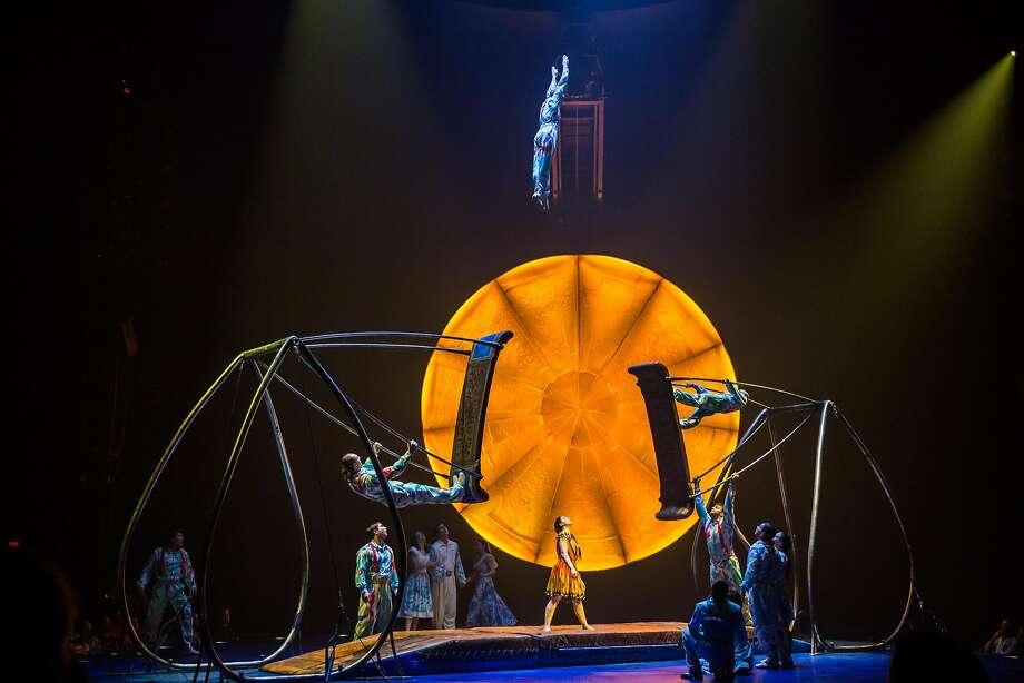 "Cirque du Soleil's ""Luzia"" will be flying under the Big Top on Market Street from June 19 to July 21. More information here. Photo: Matt Beard, Cirque Du Soleil"
