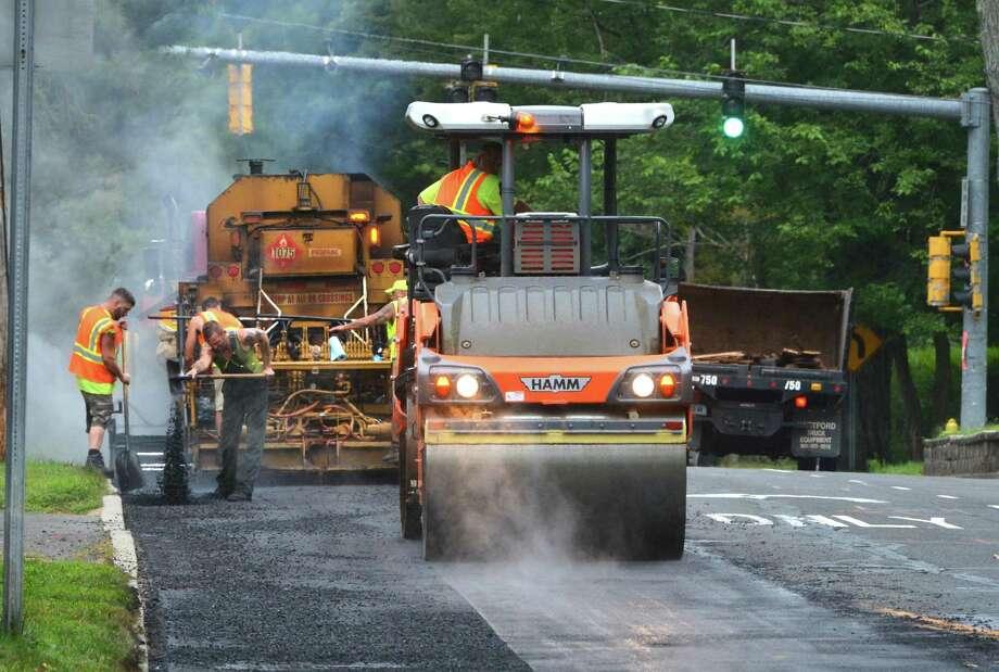 Norwalk plans to pave more than 70 streets this year. Photo: Alex Von Kleydorff / Hearst Connecticut Media / Norwalk Hour