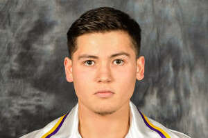 UAlbany men's lacrosse player Mitch Laffin, #7