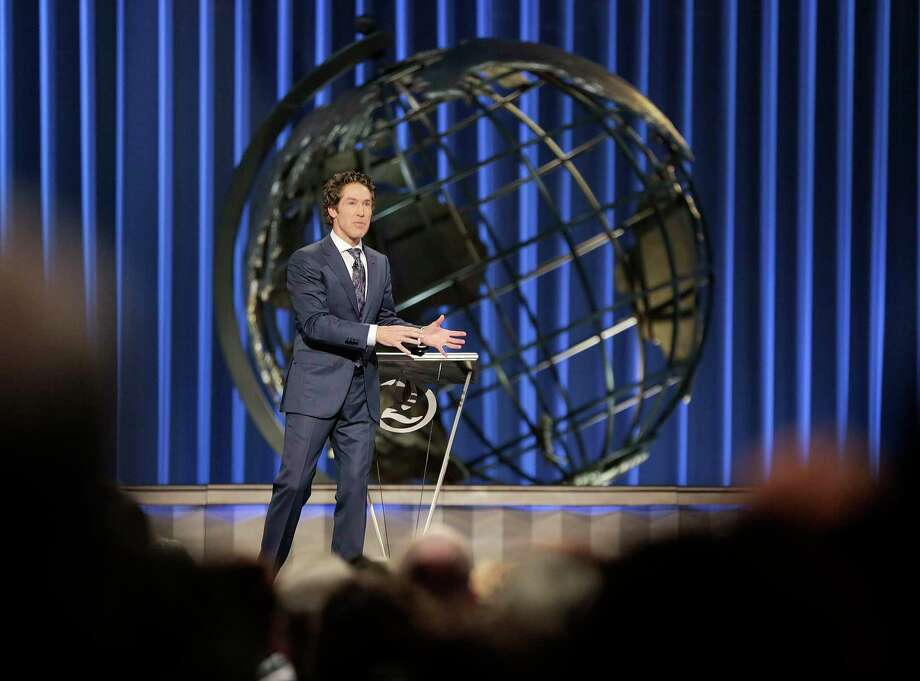 Thanks to a partnership between Joel Osteen's Lakewood Church and World Vision U.S., additional relief is coming to Houston amid the ongoing COVID-19 pandemic. Photo: Elizabeth Conley, Chronicle / Houston Chronicle / © 2018 Houston Chronicle