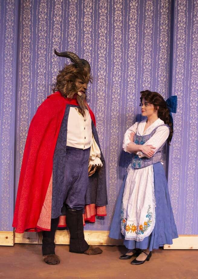 "Rehearsal for Midland Community Theatre's ""Beauty and the Beast."" Photo: Whitney Smith Courtesy Midland Community Theatre"