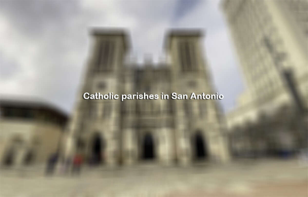 Click ahead to see Catholic parishes in San Antonio.