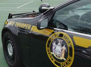 State Police car (Paul Buckowski/Times Union)