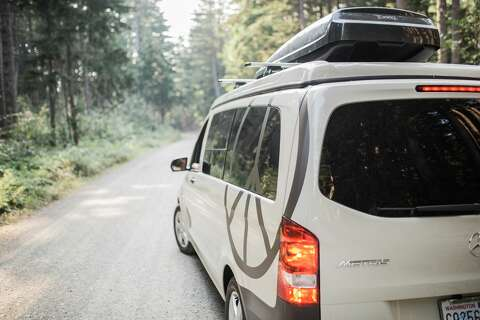 This pop-top van is the modern take on the VW Camper - SFGate