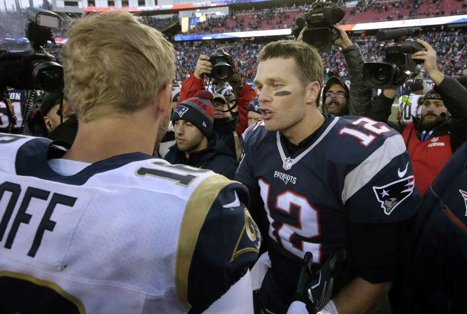 NFL: Brady, Goff have massive age gap, but same Super Bowl dream