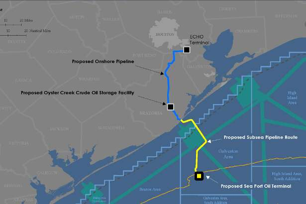 Enterprise Products Partners LP filed a permit application with the U.S. Maritime Administration on Thursday morning seeking federal approval to build Sea Port Oil Terminal, or SPOT, offshore from Brazoria County.
