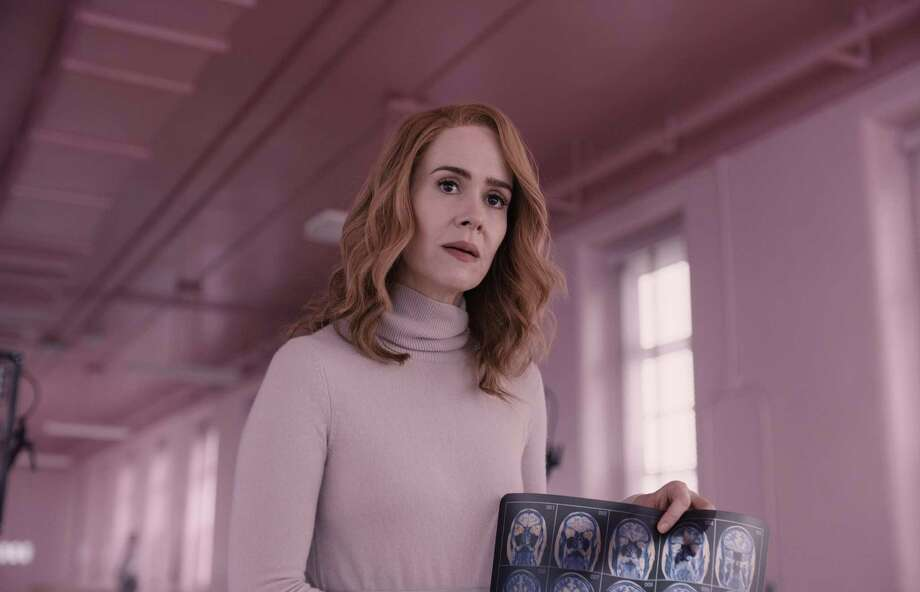 "This image released by Universal Pictures shows Sarah Paulson in a scene from M. Night Shyamalan's ""Glass."" Photo: Jessica Kourkounis / Associated Press / Universal Pictures"