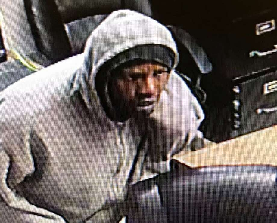 The Montgomery County Sheriff's Office is hoping to identify this man in connection with a burglary in Porter Wednesday. Photo: Courtesy