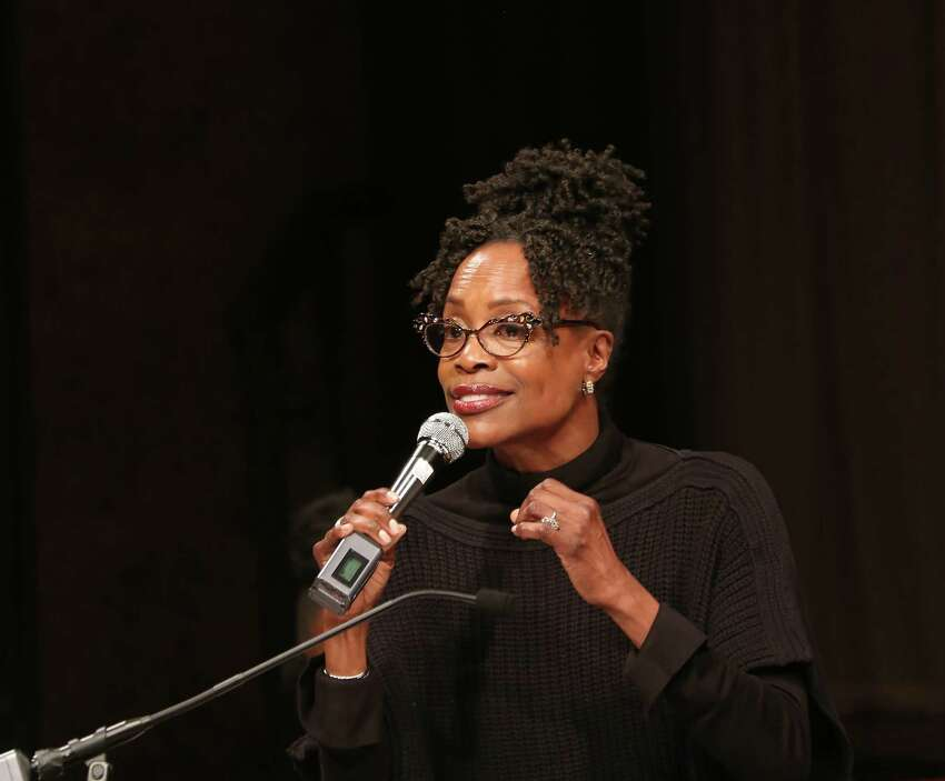 NEW YORK, NY - MAY 22: Charlayne Woodard on stage at the The Lilly Awards at Playwrights Horizons on May 22, 2017 in New York City. (Photo by Walter McBride/Getty Images)