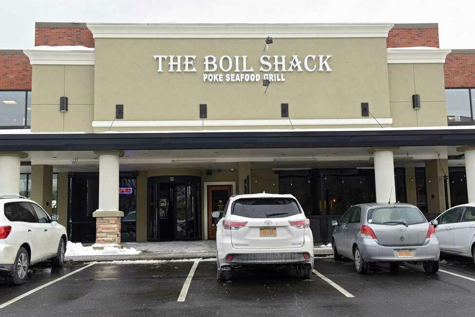 Exterior of The Boil Shack on Wolf Rd. on Wednesday, Jan. 23, 2019 in Colonie, N.Y. (Lori Van Buren/Times Union)