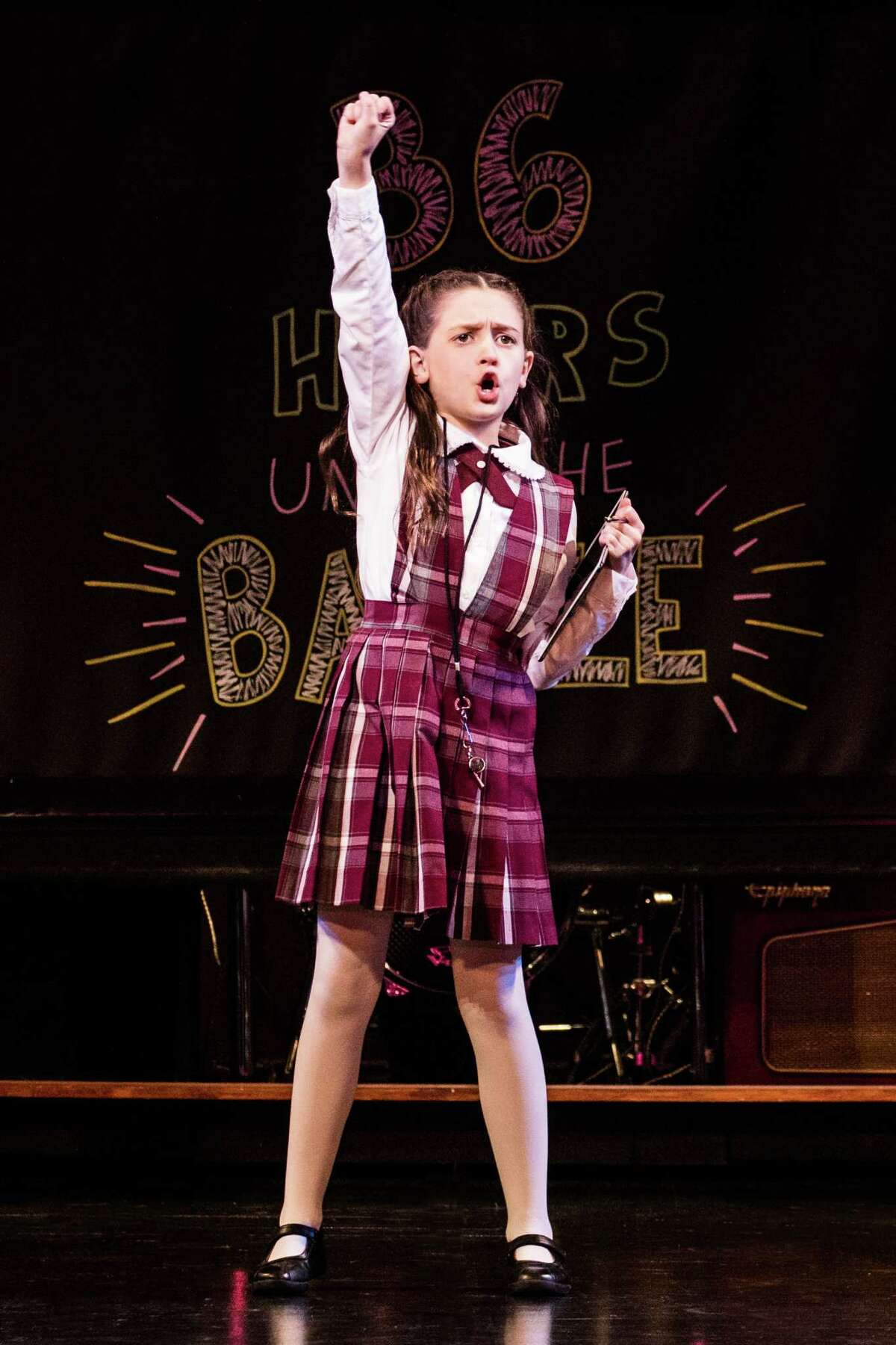 Sami Bray in the School of Rock Tour. Photo by Evan Zimmerman-MurphyMade