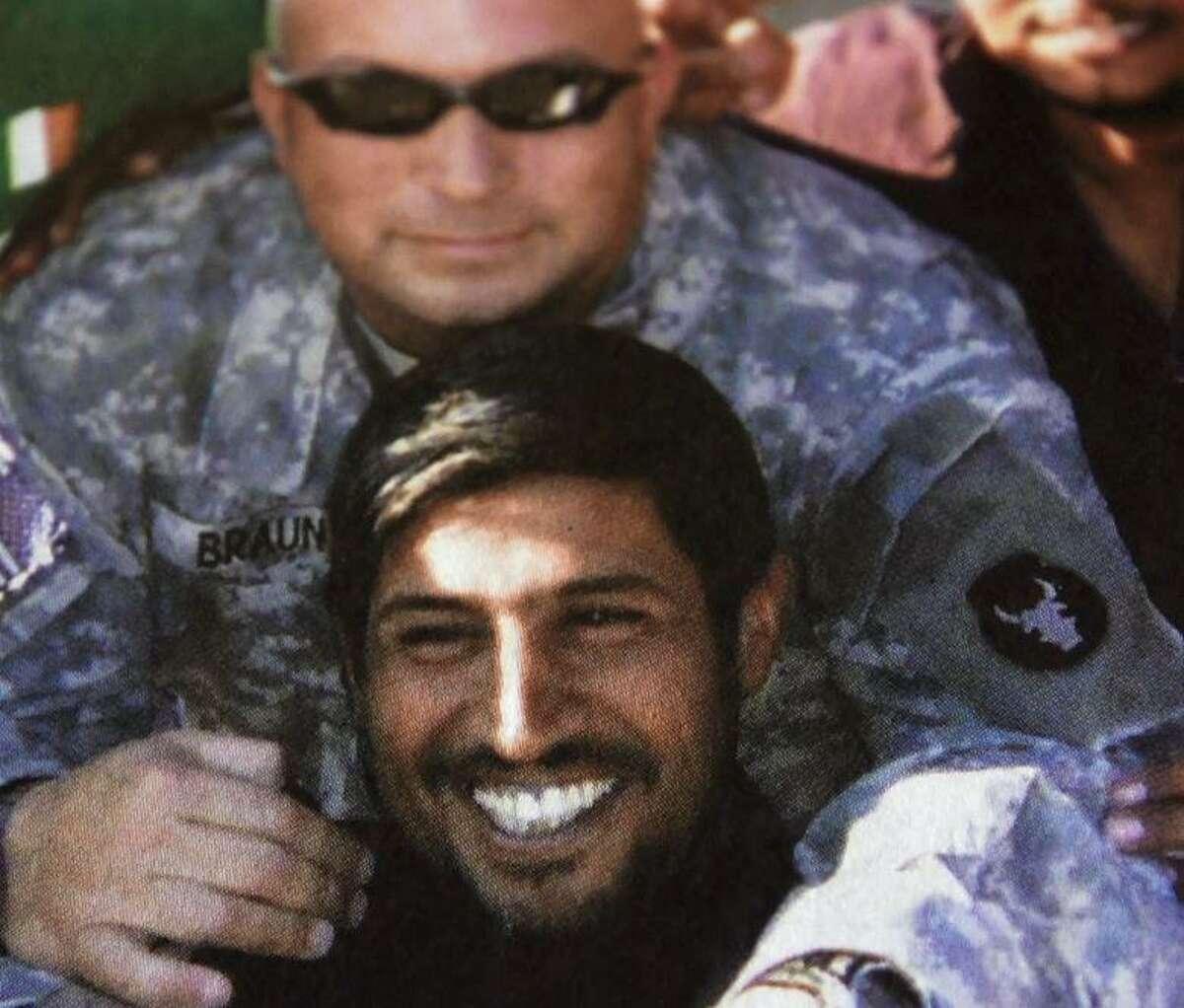 U.S. Army Staff Sgt. Paul Braun worked to help one of his Iraqi interpreters -