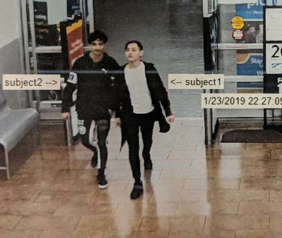 Detectives with the Montgomery County Sheriff's Office are searching for two people who allegedly stole iPhones from a New Caney Walmart. Photo: Courtesy