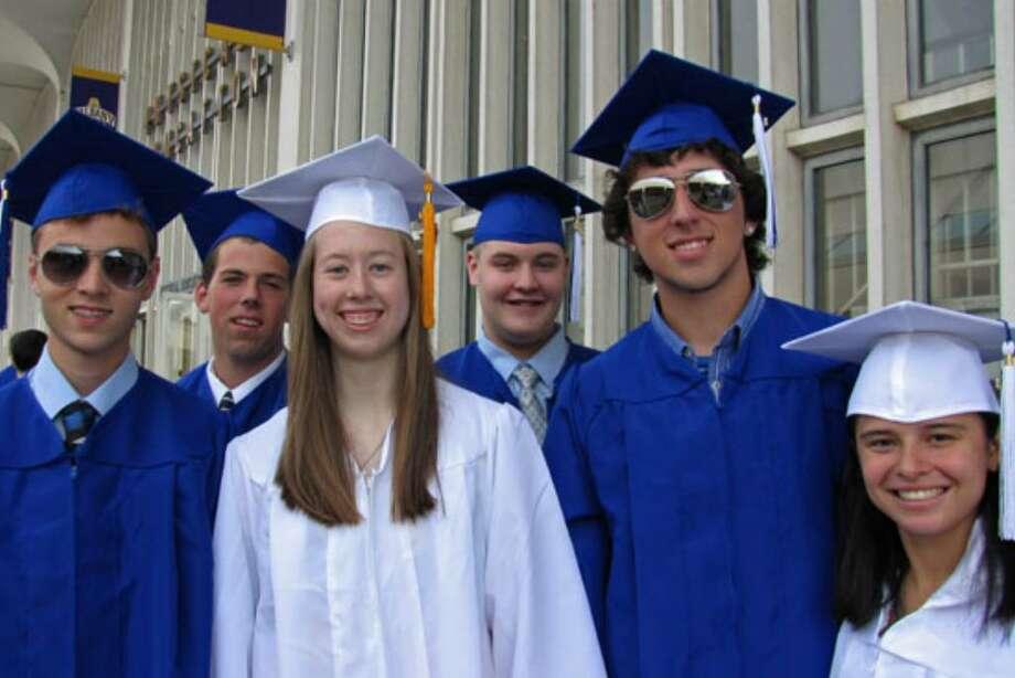 Were you seen at Shaker High graduation? Photo: Anne-Marie Sheehan