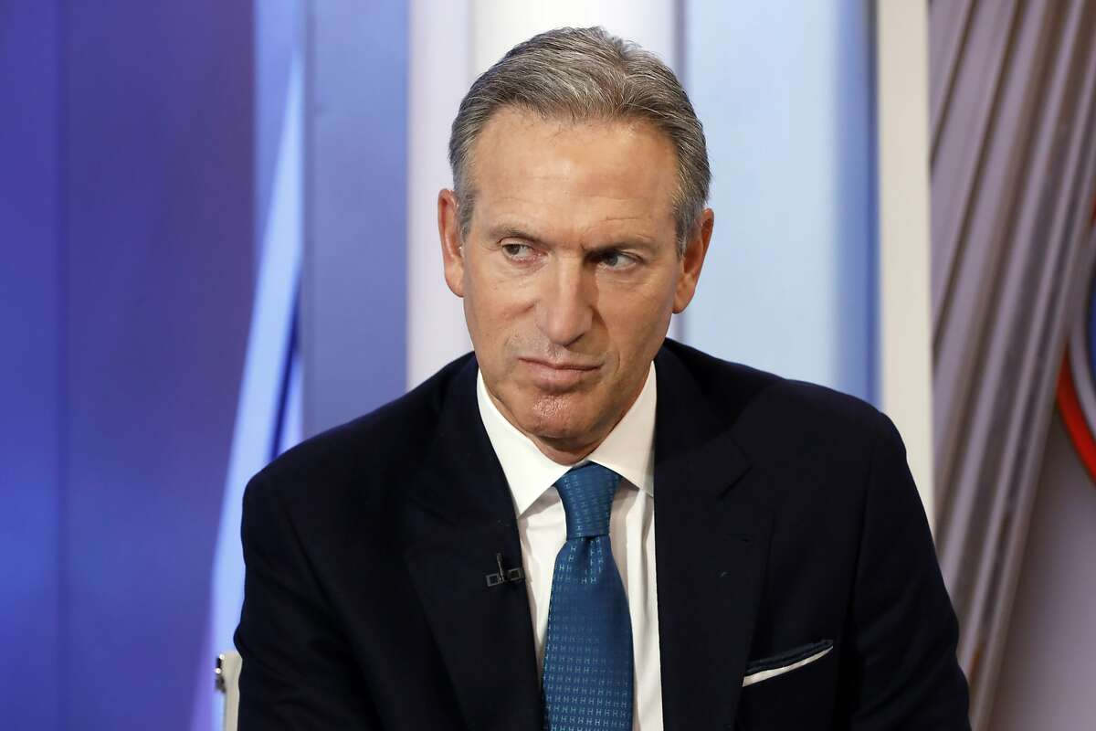 Former Starbucks CEO Howard Schultz is interviewed by FOX News Anchor Dana Perino for her