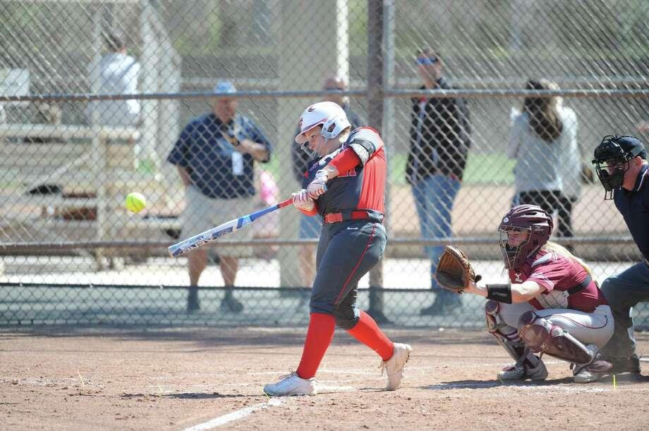 Fairfield senior Courtney Hankins was selected as MAAC softball preseason player of the year. Photo: Contributed Photo / Fairfield Athletics