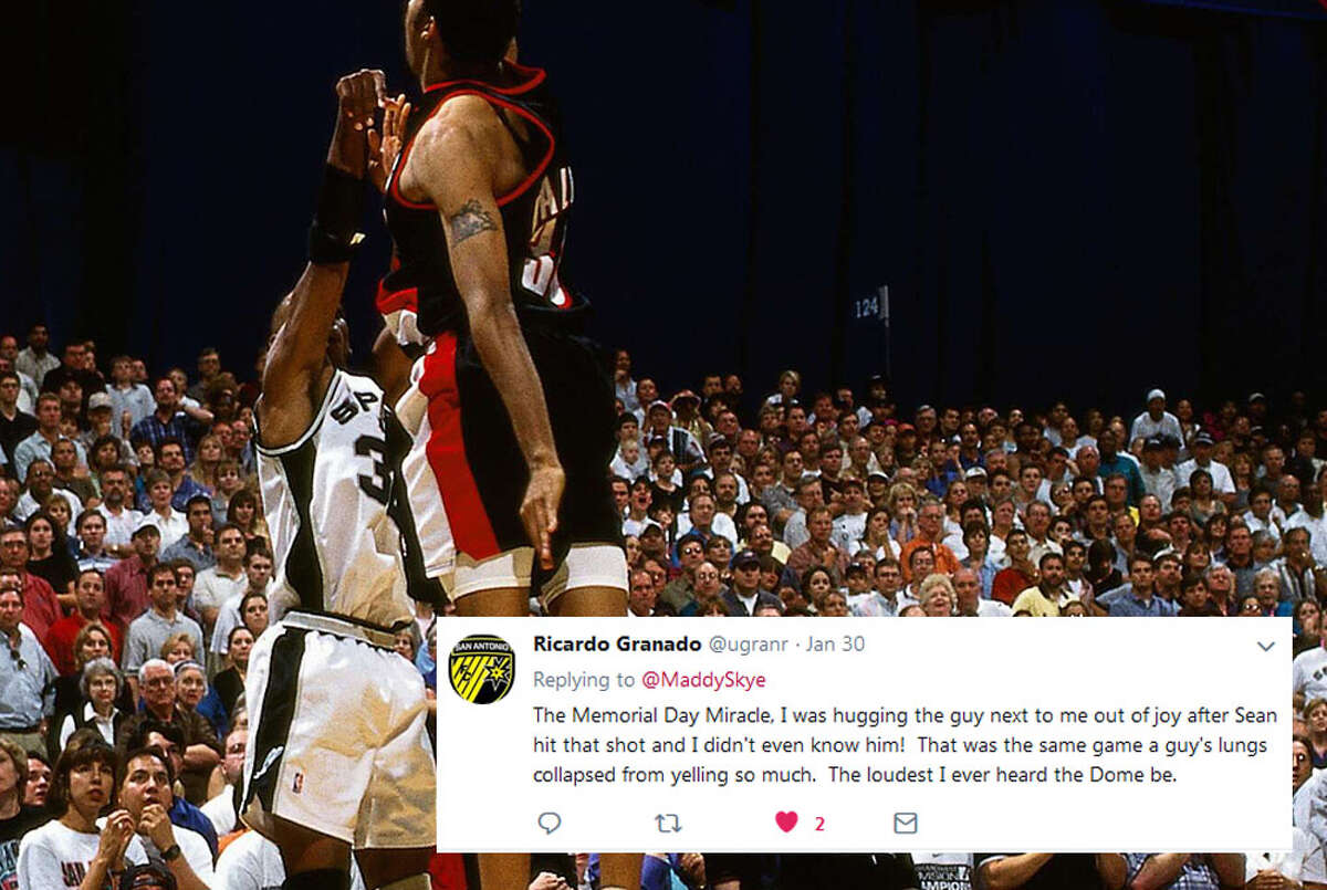 @uganr: The Memorial Day Miracle, I was hugging the guy next to me out of joy after Sean hit that shot and I didn't even know him! That was the same game a guy's lungs collapsed from yelling so much. The loudest I ever heard the Dome be.