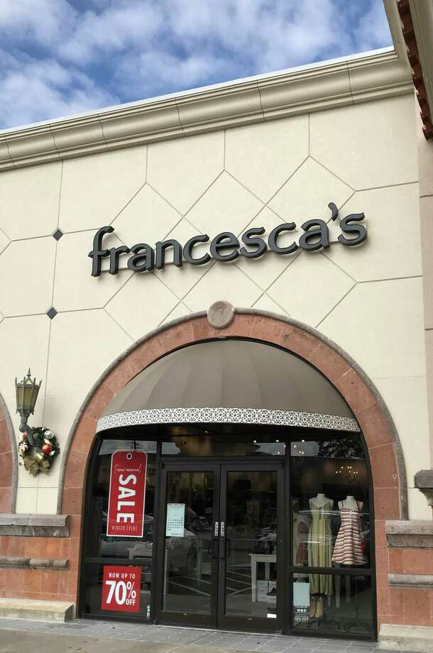 Francesca's, 5468 W FM 1960, in the Champion Forest Plaza is shown Friday, Dec. 28, 2018, in Houston. This section of FM 1960 is also named Cypress Creek Parkway. >>>See other chains that have cut back recently ... Photo: Melissa Phillip, Houston Chronicle / Staff Photographer / © 2018 Houston Chronicle