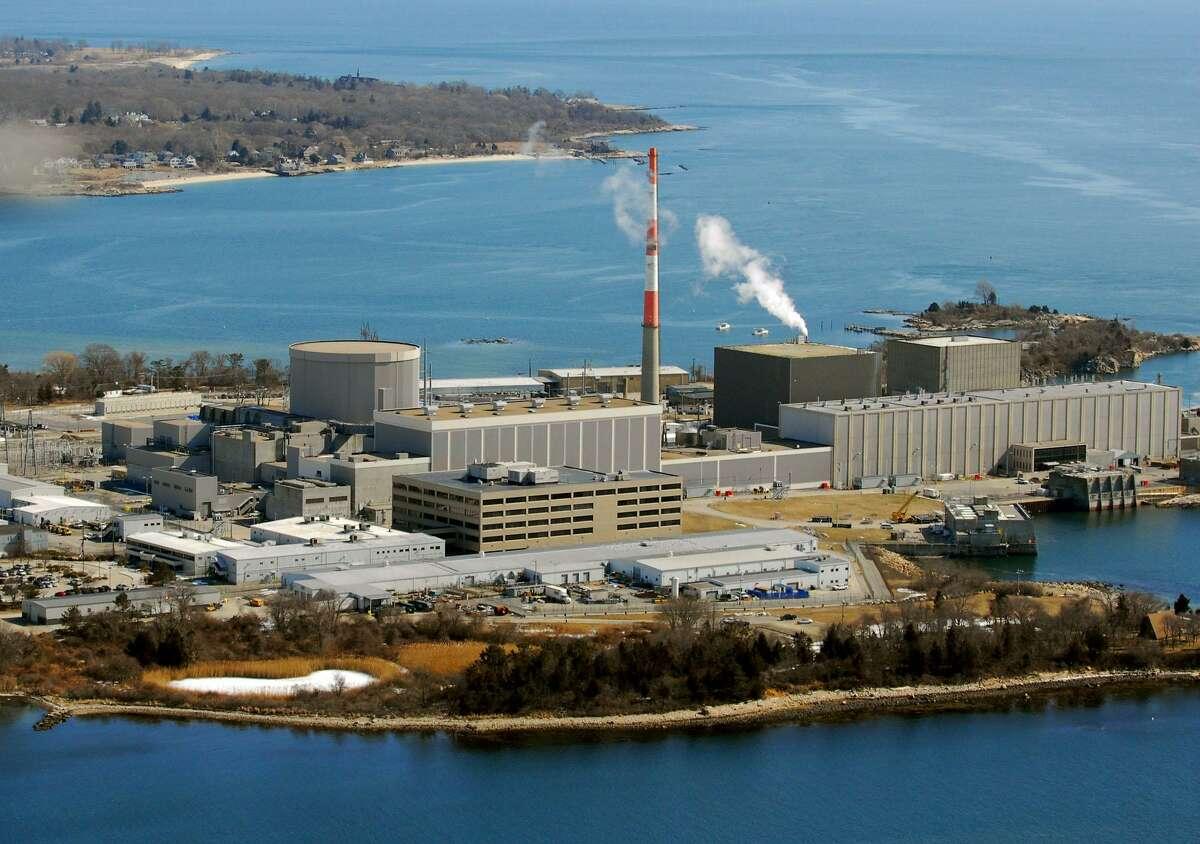 Millstone Nuclear Power Plant in Waterford. Morgan Kaolian AEROPIX